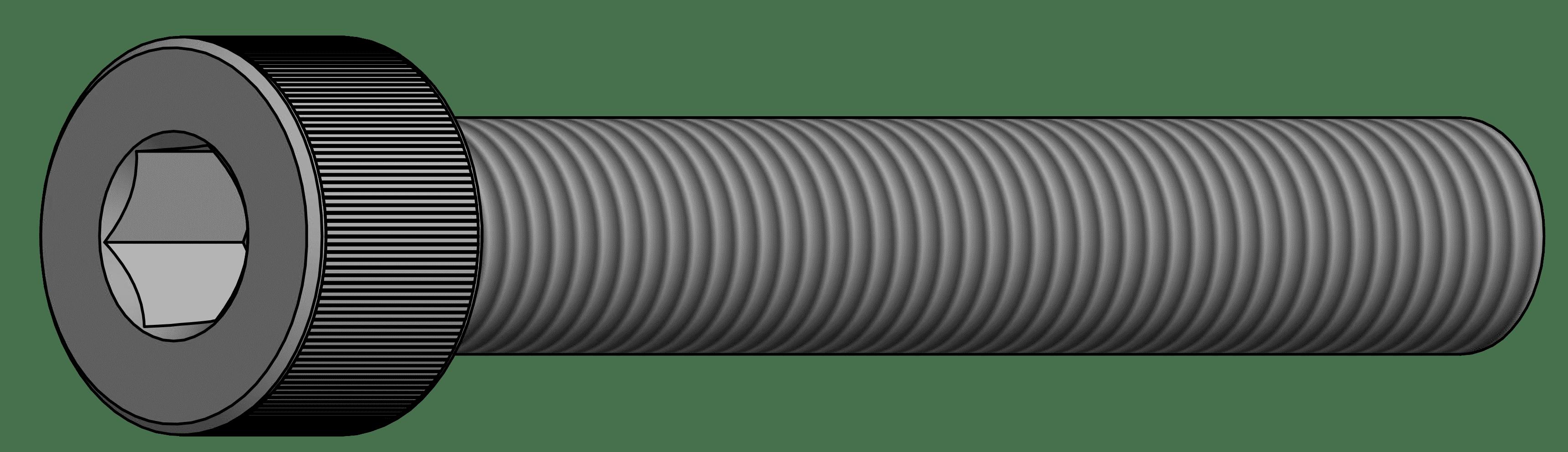 สกรูหัวจมบาง เกรด 8.8 DIN 7984